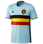 2016-2017 Belgium Away Adidas Football Shirt