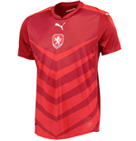 2016-2017 Czech Republic Home Puma Football Shirt