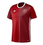 2016-2017 Denmark Home Adidas Football Shirt (Kids)