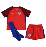 2016-2017 England Away Nike Mini Kit