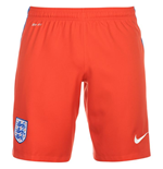 2016-2017 England Nike Away Shorts (Red) - Kids