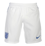 2016-2017 England Nike Home Shorts (White) - Kids