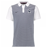 2016-2017 France Nike Authentic GS Polo Shirt (Grey) - Kids