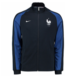 2016-2017 France Nike Authentic N98 Jacket (Navy) - Kids