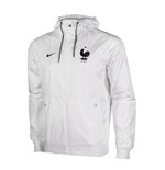 2016-2017 France Nike Authentic Windrunner Jacket (White)
