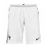 2016-2017 France Nike Away Match Shorts (White)
