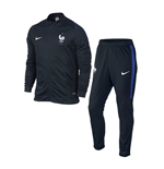 2016-2017 France Nike Revolution Knit Tracksuit (Navy) - Kids