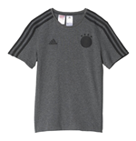 2016-2017 Germany Adidas 3S Tee (Grey) - Kids