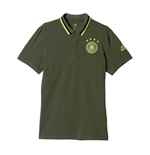 2016-2017 Germany Adidas Anthem Polo Shirt (Green)