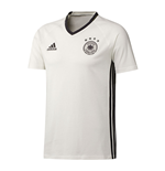 2016-2017 Germany Adidas Players Training Tee (White) - Kids
