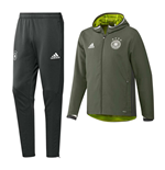 2016-2017 Germany Adidas Presentation Tracksuit (Green)