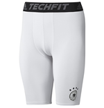 2016-2017 Germany Adidas Techfit Shorts (White)