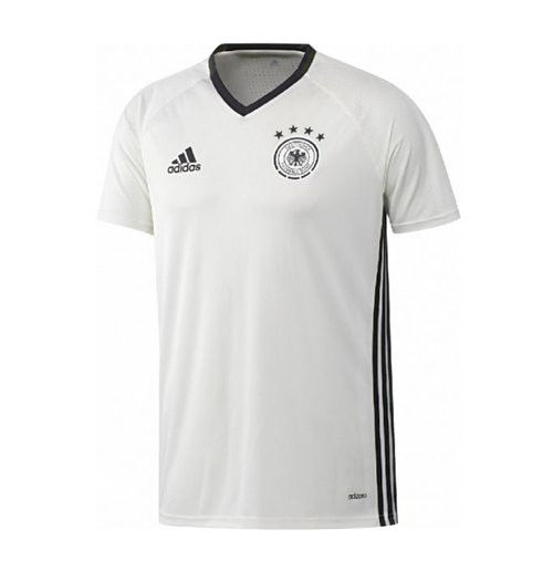 Buy Official 2016-2017 Germany Adidas Training Shirt (White)