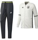 2016-2017 Germany Adidas Training Suit (White)