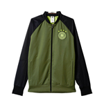 2016-2017 Germany Adidas Woven Anthem Jacket (Green)