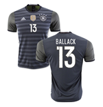 2016-2017 Germany Away Shirt (Ballack 13) - Kids