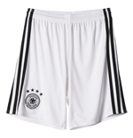 2016-2017 Germany Home Adidas Goalkeeper Shorts (White) - Kids