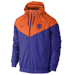 2016-2017 Holland Nike Authentic Windrunner Jacket (Orange)