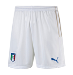 2016-2017 Italy Puma Home Shorts (White) - Kids