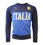 2016-2017 Italy Puma Fanwear Crewneck Sweater (Navy) - Kids