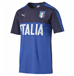 2016-2017 Italy Puma Fanwear Graphic Tee (Peacot) - Kids