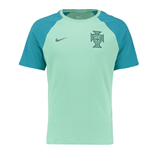2016-2017 Portugal Nike Match Tee (Green Glow)