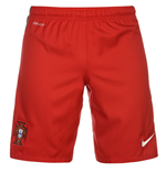 2016-2017 Portugal Nike Home Shorts (Red)