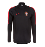 2016-2017 Portugal Nike Drill Top (Black)