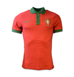 2016-2017 Portugal Nike Core Polo Shirt (Red)