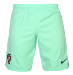 2016-2017 Portugal Nike Away Shorts (Green Glow)