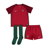 2016-2017 Portugal Home Nike Mini Kit