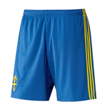 2016-2017 Sweden Home Adidas Football Shorts