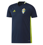 2016-2017 Sweden Adidas Training Jersey (Navy)
