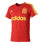 2016-2017 Spain Adidas Graphic Tee (Red)