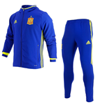 2016-2017 Spain Adidas Presentation Tracksuit (Blue)