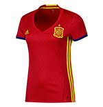 2016-2017 Spain Home Adidas Womens Shirt