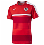 2016-2017 Austria Puma Training Shirt (Red)