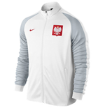 2016-2017 Poland Nike Authentic N98 Jacket (White)