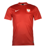 2016-2017 Poland Away Nike Supporters Shirt
