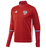 2016-2017 Russia Adidas Training Top (Red)