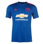 2016-2017 Man Utd Adidas Away Football Shirt (Kids)