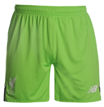 2016-2017 Liverpool Home Goalkeeper Shorts (Locust Green)