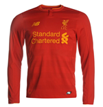 2016-2017 Liverpool Home Long Sleeve Shirt
