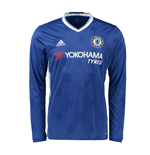 2016-2017 Chelsea Adidas Home Long Sleeve Shirt (Kids)