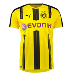 2016-2017 Borussia Dortmund Puma Home Football Shirt (Big Sizes)