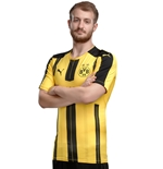 2016-2017 Borussia Dortmund Puma Authentic Home Football Shirt