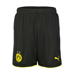 2016-2017 Borussia Dortmund Home Puma Shorts (Black) - Kids