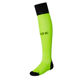 2016-2017 Celtic Home Goalkeeper Socks (Toxic) - Kids