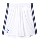 2016-2017 Schalke Adidas Home Shorts (White)