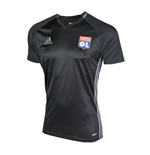 2016-2017 Olympique Lyon Adidas Training Shirt (Black)